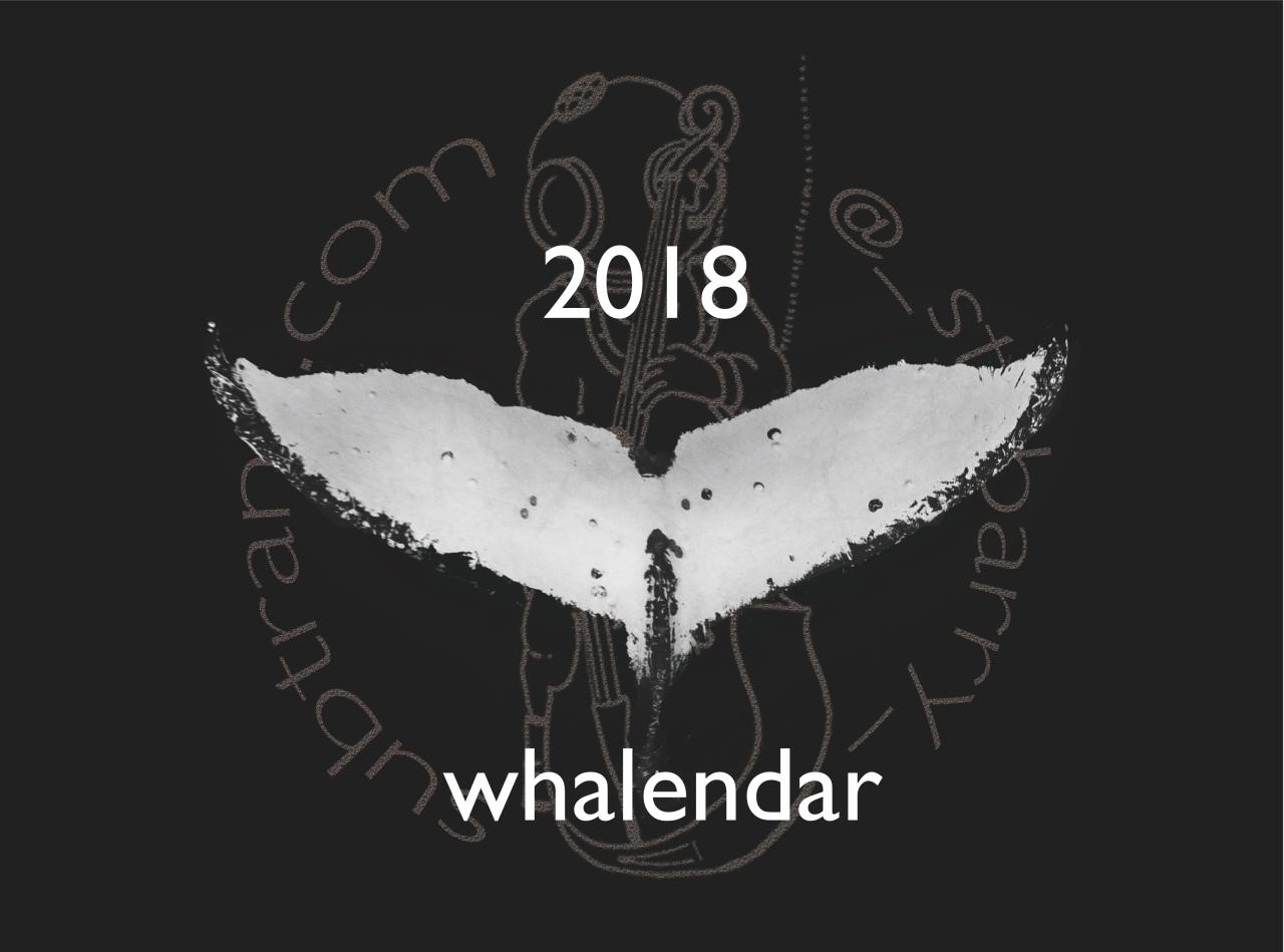 2018 Whalendar
